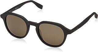 نظارات شمسية بوس اورنج من هوغو بوس بعدسات لون اخضر كيو تي BO 0321 2W7 S 49