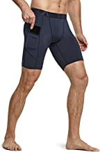 Tesla Men's Compression Shorts Baselayer Cool Dry Sports Tights