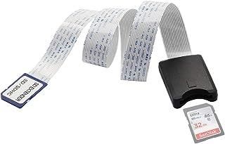 Cable de extensión de tarjeta SD LANMU Cable de extensión SD a SD Adaptador de tarjeta de memoria SD Cable extensor de extensión para Raspberry Pi / GPS / DVD / LED / Cámara salvaje / SDHC SDXC