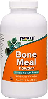 Now Supplements, Bone Meal, 1-Pound