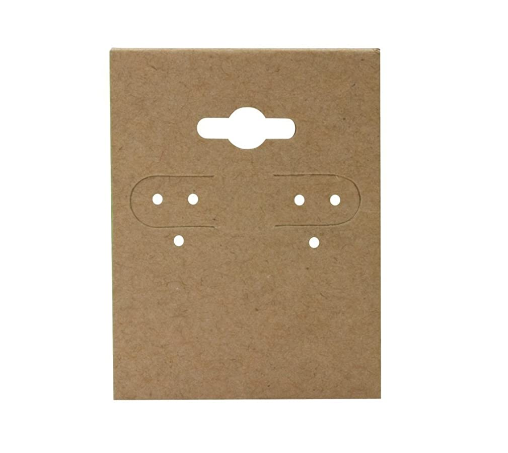Earring Display Hang Cards-100pcs (1 1/2