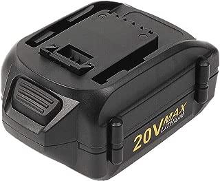 4.0Ah Battery for Worx WA3520 20V Max Li-ion Replacement Battery for Worx WG151s WG155s WG251s WG255s WG540s WG545s WG890 WG891