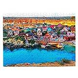Malta Jigsaw Puzzle de 500 piezas para adultos niño de madera regalo recuerdo 20.5 x 15 pulgadas (FX03776)