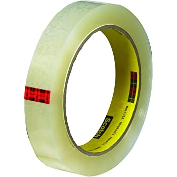 Scotch Transparent Tape, Wide Width, Engineered for Office and Home Use, 1 x 2592 Inches, 3 Rolls, Boxed (600-72-3PK)