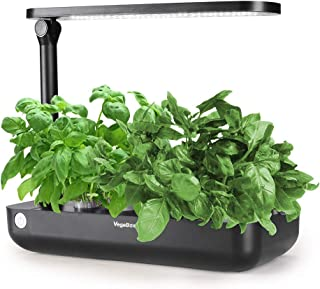Hydroponics Growing System,Support Indoor Grow,Grow Smart for Plant, Built Your Indoor Garden (Small-Black)