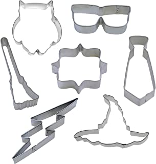 7 Piece Witch and Wizard Cookie Cutter Set