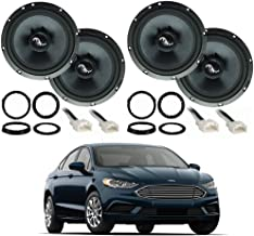 Compatible with Ford Fusion 2013-2019 Premium Speaker Upgrade Package Harmony C65 Speakers New