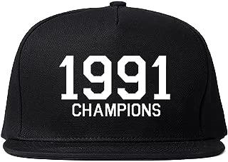 1991 Champions Tropy Winners Snapback Hat Cap