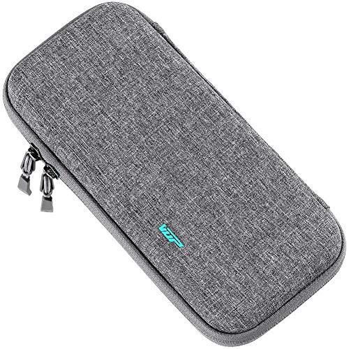 VUP Switch用ケース スイッチ用ケース Switch用ポーチ 薄型 高品質ジッパー カード収納 持ち運び便利 撥水性 防汚 耐衝撃 全面保護