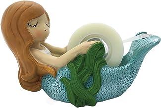 Streamline Cute Mermaid Tape Dispenser