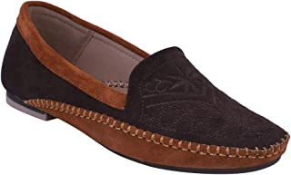 pelle albero Womens Brown Comfortable Casual Shoes
