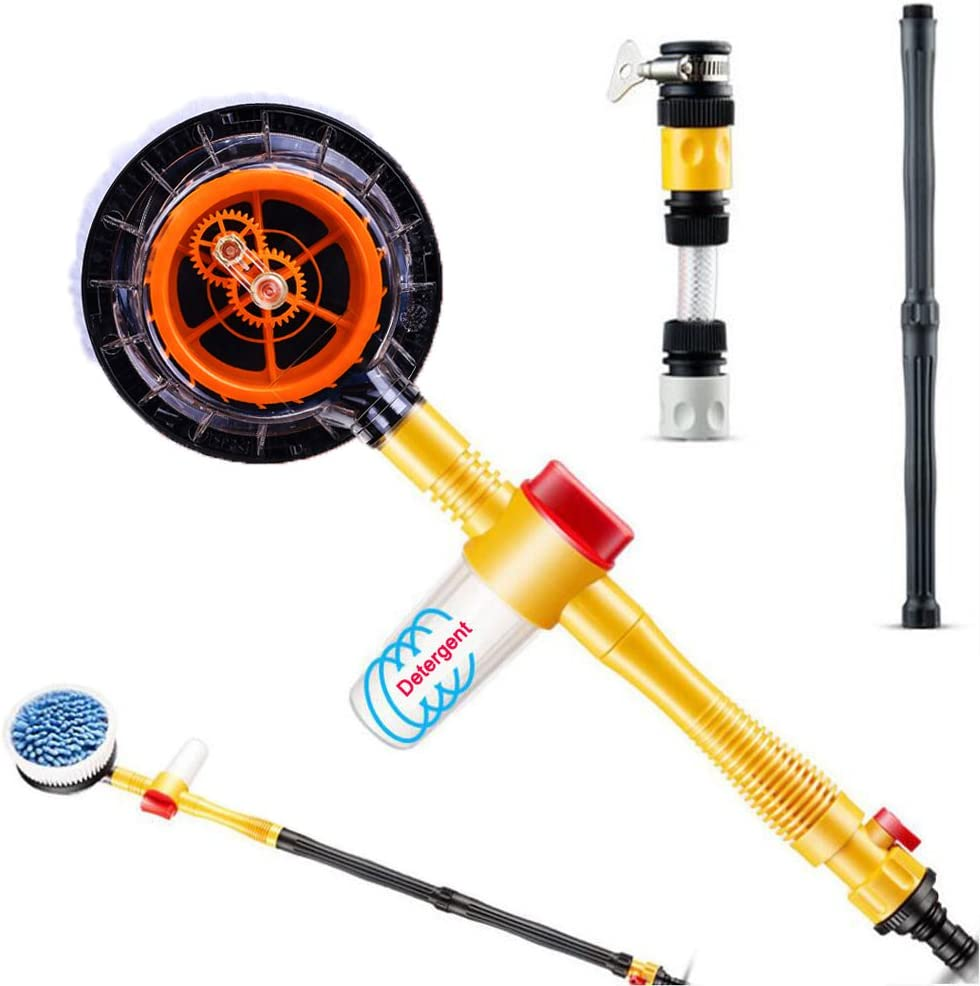 JSCARLIFE Pressure Washer Car Wash Our shop most popular Rotating Attachment Brush Max 78% OFF