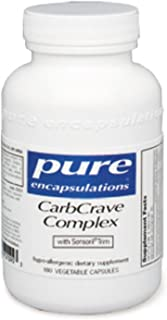 Pure Encapsulations - CarbCrave Complex - with Sensoril Trim to Help Moderate Carbohydrate Intake and Lessen Appetite* - 90 Capsules