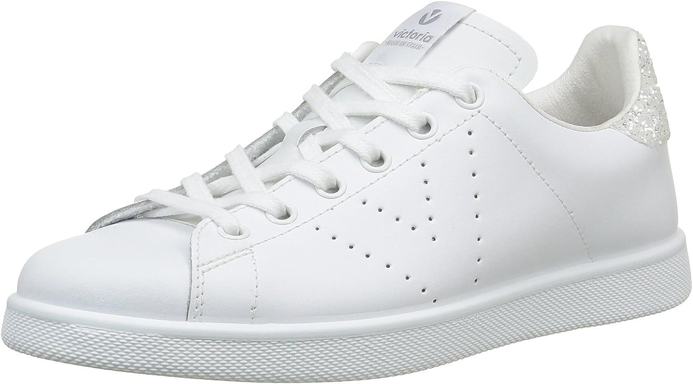 Victoria Fashion White Glitter White Sneaker