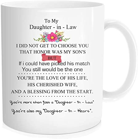 Son in law Mug Funny mug Son in law Gift Mug For future son in law