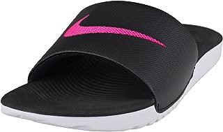 Womens Kawa Slide Black/Vivid Pink