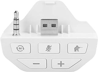 EBTOOLS Controlador de Auriculares potenciador de Sonido para Xbox One, Adaptador de Audio de Auriculares estéreo Dongle convertidor(Blanco)