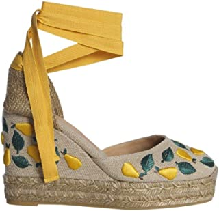 CASTANER Women's CARINAB28EDSS190094060 Multicolor Canvas Wedges