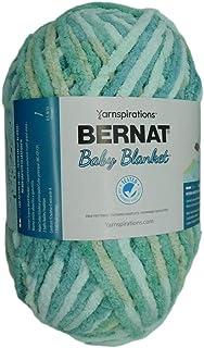 Bernat Baby Blanket Yarn, Baby Blue-Green