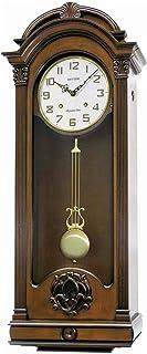 Rhythm Cmj397Cr06 Sound In Place Sip Clock, Brown