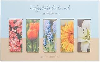 Monolike Magnetic Bookmarks Garden Flower, Set of 5