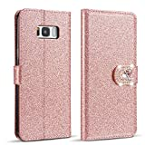 ZCDAYE Case for Samsung Galaxy A7 2018,Bling Glitter
