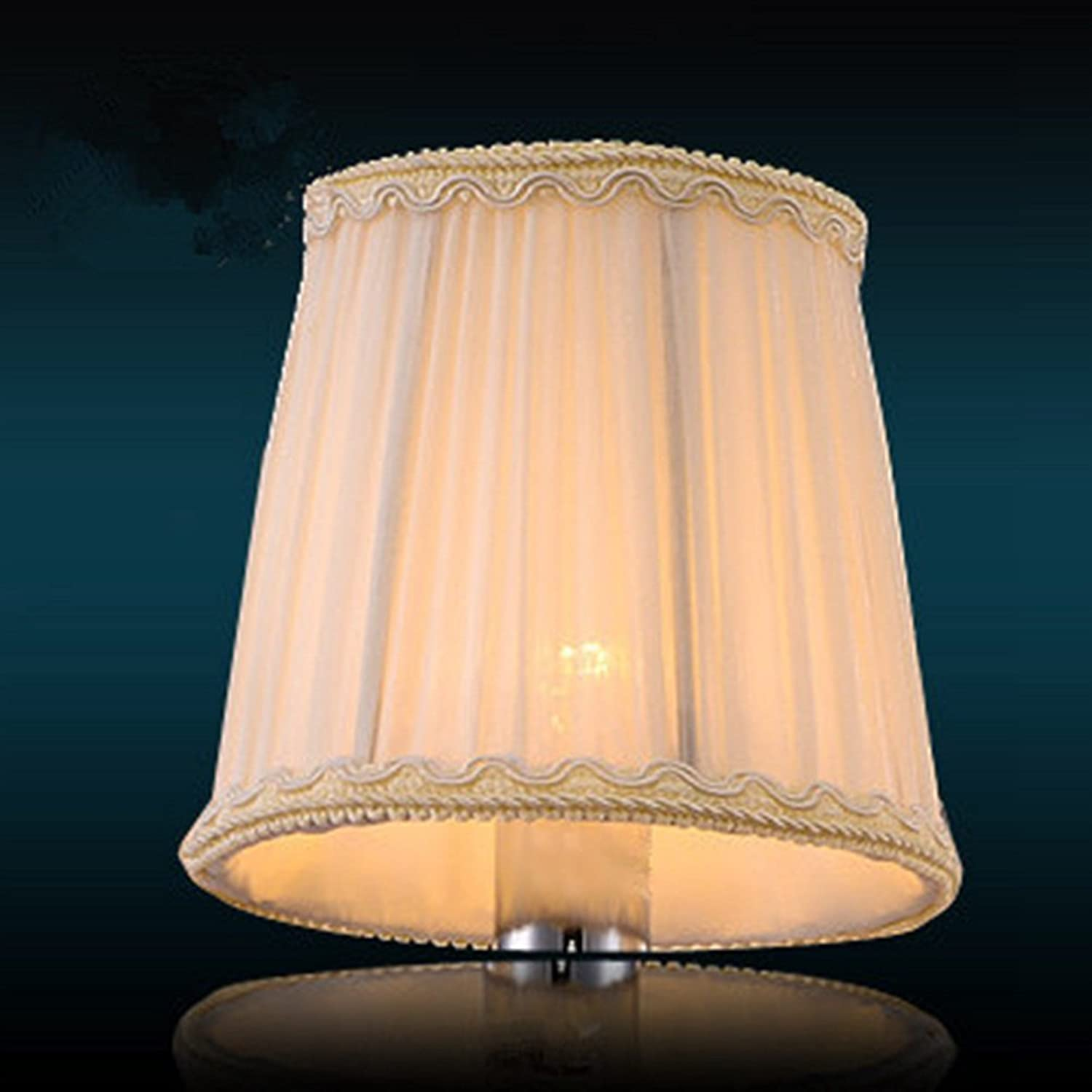 Lampshade High-Grade Crystal Chandelier Dedicated Lampshade (Fit for E14 Tip Bulb) (Size 8  13.5  12.5cm(3.15  5.31  4.92 inch), Model  M32)