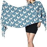 Not applicable Bufanda grande para mujer Nicaragua Flag Mode Soft Cashmere Feel Pashmina Shawls Wraps 27x78 inch