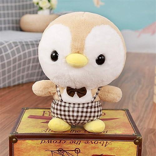 PANGDUDU Gelbes Pinguinkissen Niedlich Mini Pinguin Puppe Plüschtier Kinder Puppe Puppe Geburtstagsgeschenk mädchen, 5cm