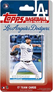 Los Angeles Dodgers 2019 Topps Factory Sealed Special Edition 17 Card Team Set with Clayton Kershaw and Cody Bellinger Plus