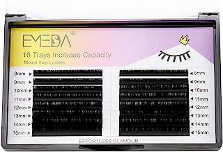 D Curl 0.18 Lash Extensions 8-15mm Mixed Tray .18 Individual Classic Single Eyelash Extensions 8mm 9mm 10mm 11mm 12mm 13mm...
