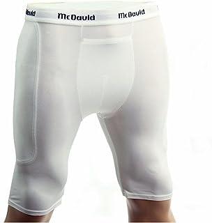 McDavid Men's 720CT Baseball Sliding Shorts White S