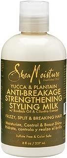SheaMoisture 8 oz Yucca & Plantain Anti-Breakage Strengthening Styling Milk