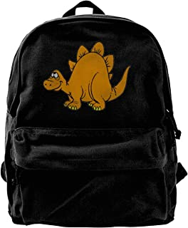 Fashion Space Stegosaurus Dinosaur Oxford Travel Backpack Shoulder Bags