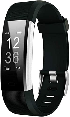 Waylon ID116 Plus Bluetooth Smart Fitness Band Watch with Heart Rate Activity Tracker Waterproof Body, Step and Calor...