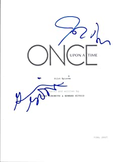 once upon a time signed script