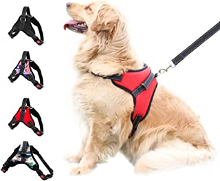 XDgrace Large Pet Dog Harness, Adjustable No-Pull Dog Harness Vest Collar with All Kind of Size