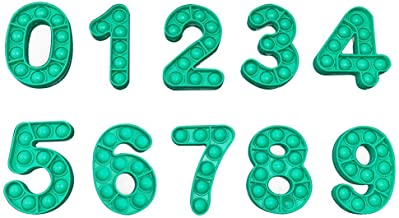 Nummer Leren Speelgoed, Nummer Vormige Decomprimeren Speelgoed Set, Fidget Pack Goedkope Digitale Speelgoed Kit, 0-9 Numme...