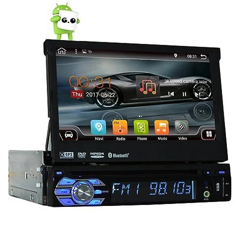 """Quad-core Android 6.0 Simple 1 Din 7"""" lecteur universel écran tactile voiture DVD GPS Navi Avec Autoradio Bluetooth Auto Radio stéréo voiture USB SD Audio BT WIFI 2G RAM + 16G ROM GRATUIT CARTE"""