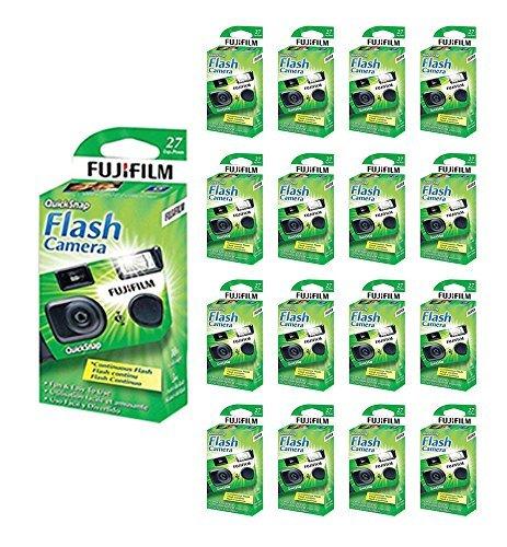 20x Fuji Quicksnap Flash 400 Disposable 35mm Camera 27 Exp 09/2020 FRESH