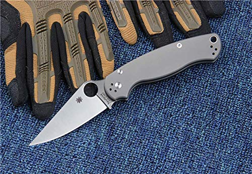 Ideale Quality Outdoor Knife Folding Blade Pocket Knife CPM S30V Titanium Steel Knife Handle Fishing Camping Survival Knife Portable Hunting Tactical Clip Knife EDC Tools Men's Gift C81