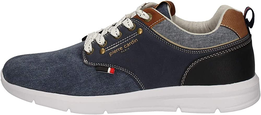 Pierre cardin, scarpe sneakers casual per uomo,in tela PC012 11