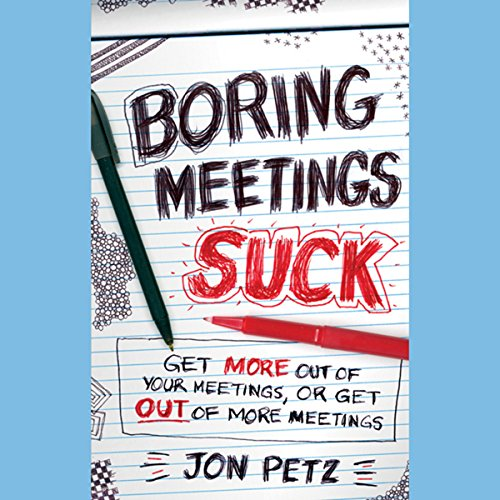 Boring Meetings Suck audiobook cover art
