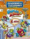 Cuaderno de Vacaciones juega y aprende con los Superzings para 6 años