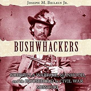 Bushwhackers audiobook cover art