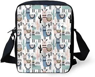 Animal Printed Mini Cross Body Bags Travel Shoulder Handbag Cellphone Pouch