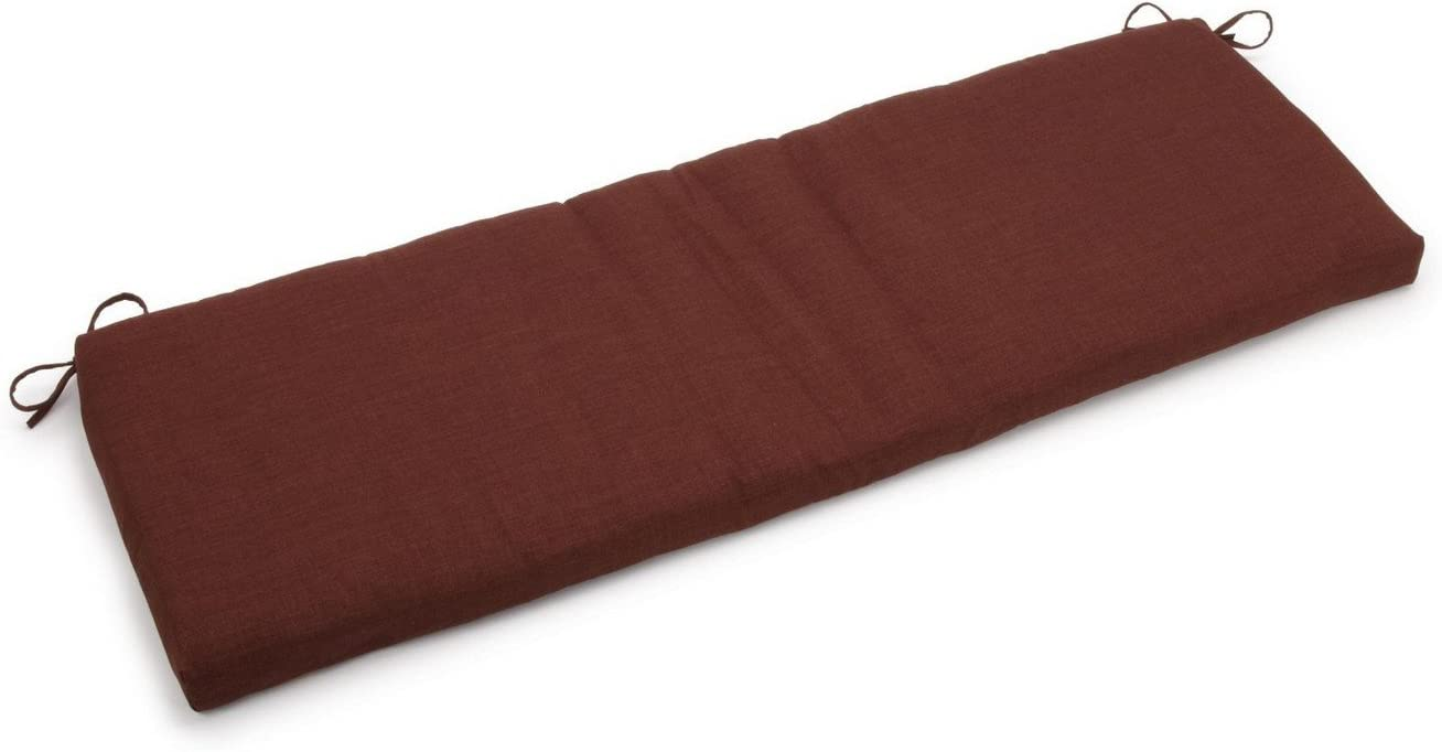 Blazing Needles Outdoor All Weather UV Resistant 3-Seater Bench Cushion, 63