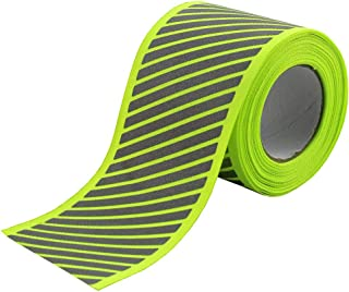 High Visibility Reflective Fabric Stripe Webbing Ribbon Sew On for Clothing 2