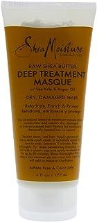 Shea Moisture Raw Shea Butter Deep Treatment Masque For Unisex, 6 Oz.