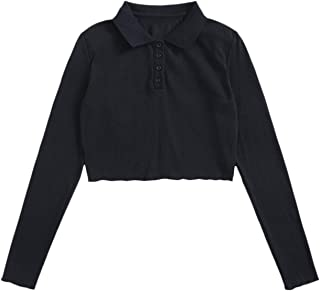 Verdusa Women's Letter Flower Print Short Sleeve Basic Tee Shirt Top